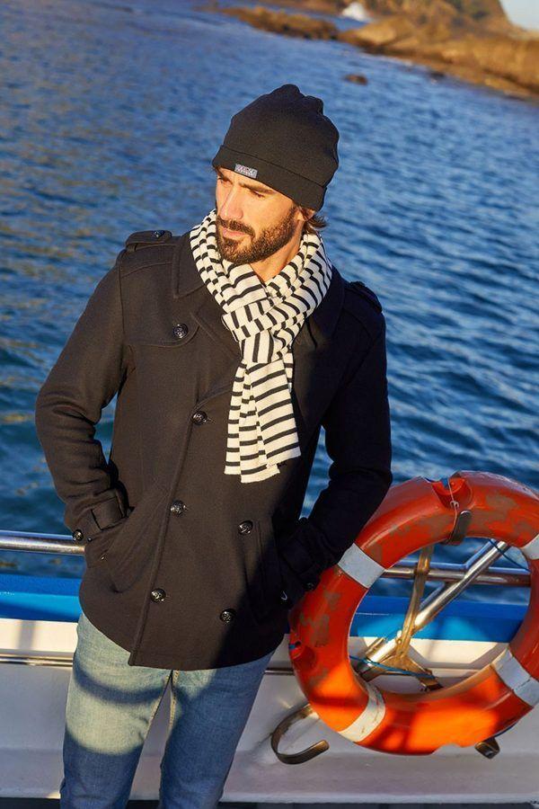 A2593 chaqueton marino hombre batela urzelai paño abrigo comando 2