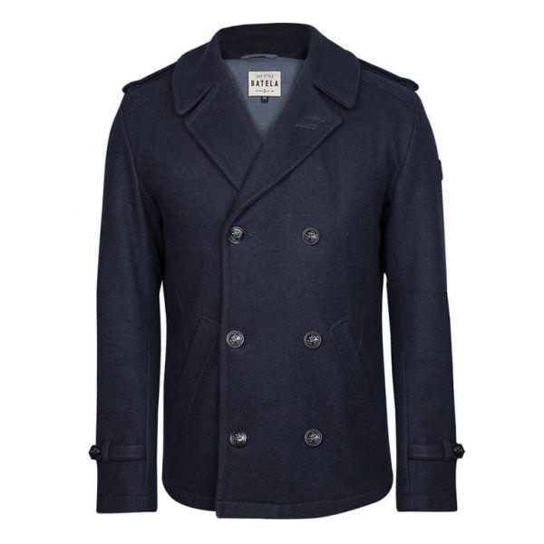 A2593 chaqueton marino hombre batela urzelai paño abrigo comando