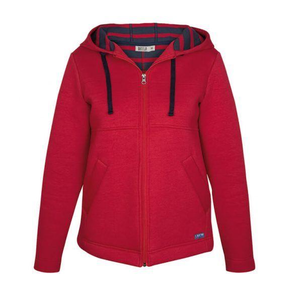 chaqueta batela urzelai mujer neopreno rojo a2855