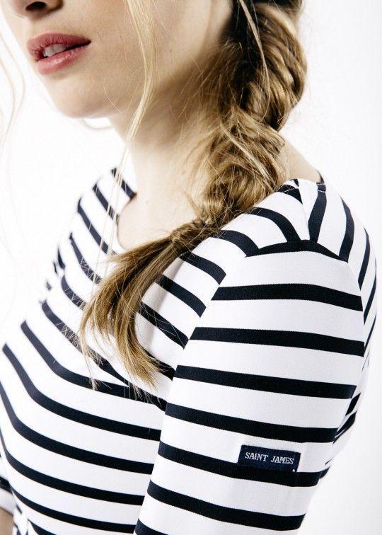 saint james camiseta meryl manga francesa rayas 3