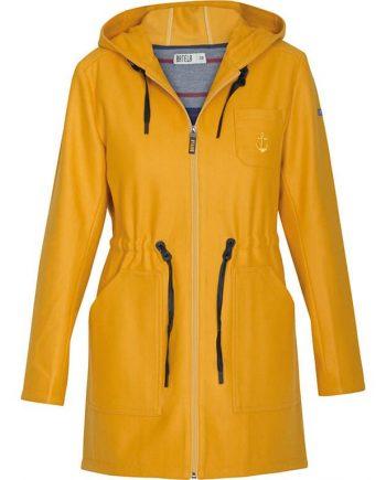 batela ropa abrigo chaqueta amarillo
