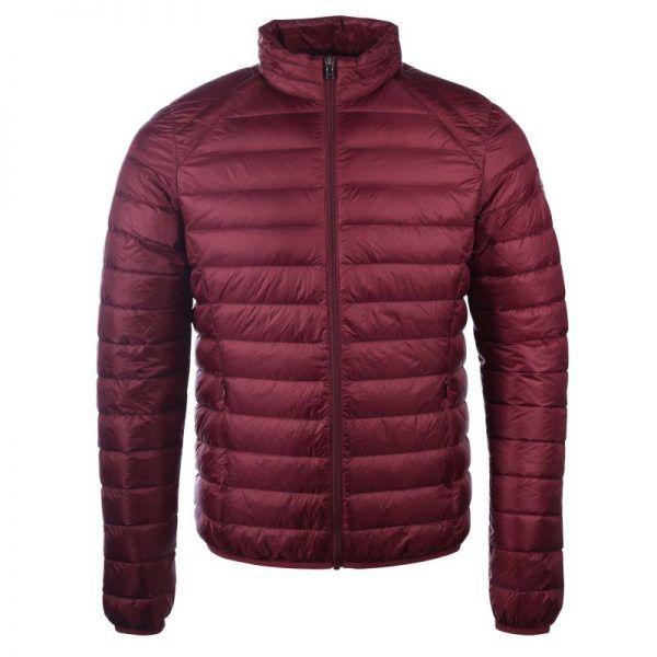 chaqueta plumifero jott hombre aubergine1