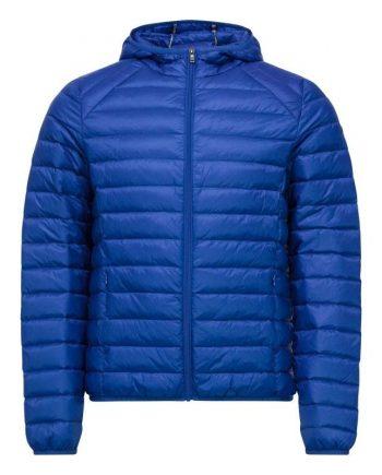 chaqueta plumifero jott hombre azul real