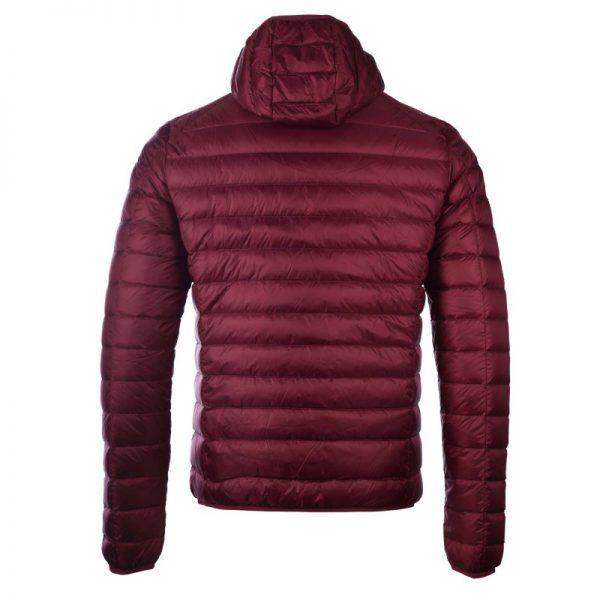 chaqueta plumifero jott hombre burdeos1