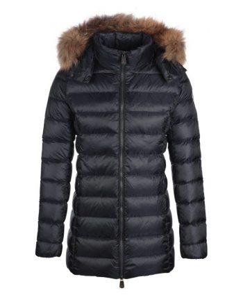 jott mujer plumifero chaqueta abrigo marino