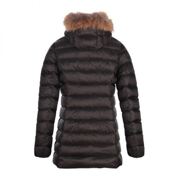 jott mujer plumifero chaqueta abrigo negro2