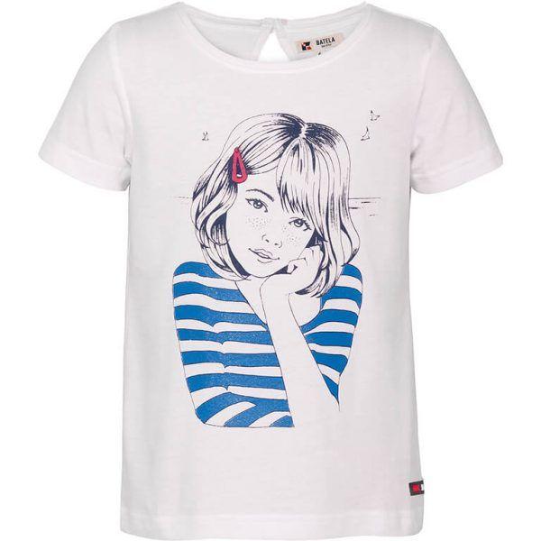 batela camiseta manga corta di9bujo